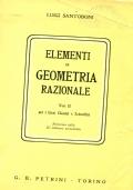 Elementi di geometria razionale- Vol. II -  (con oltre 850 esercizi)