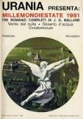 MillemondiEstate 1981 -- J. C. Ballard: Vento dal Nulla + Deserto d'Acqua + Condominium - Millemondi Estate 1981