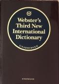 Webster's third new international dictionary of The english language unabridge