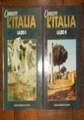 CONOSCERE L'ITALIA LAZIO 2 VOLUMI COMPLETO