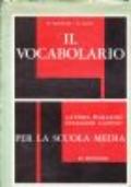 IL VOCABOLARIO - latino, italiano per la scuola media
