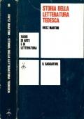 Storia della letteratura tedesca - saggi di arte e di letteratura