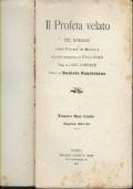IL PROFETA VELATO DEL KORASAN ( DAL POEMA DI MOORE), TEATRO SAN CARLO STAGIONE 1892-1893