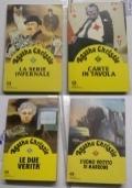 Lotto 4 Oscar Gialli Agatha Christie (La serie infernale,Carte in tavola, Le due verit�, L�uomo vestito di marrone)