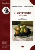 CARTEGGIO 1923-1960