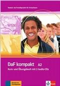 DaF kompakt A2 (Kurs- und Übungsbuch mit 2 Audio-CDs)