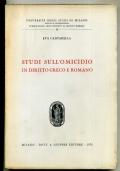 GIAMBATTISTA IMPALLOMENI - L'EDITTO DEGLI EDILI CURULI - 1A EDIZ. 1955