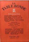 La table ronde N. 65 Mai 1953