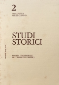 Studi storici Rivista trimestrale dell'Istituto Gramsci 2, 1987, Anno 28