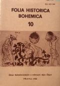 Folia historica bohemica 10