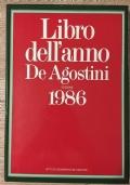 LIBRO DELL'ANNO DE AGOSTINI EDIZIONE 1986