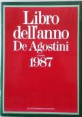 LIBRO DELL'ANNO DE AGOSTINI EDIZIONE 1987
