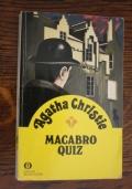 (Agatha Christie) Macabro quiz 1988 Mondadori oscar gialli 115 1702