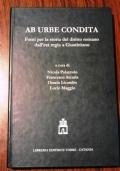 Ab urbe condita fonti per la storia del diritto romano dall'età regia a Giustiniano
