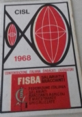 Tessera Sindacato CISL 1960