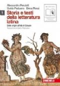 Sotire e testi della letteratura latina 1 (dalle origini all'età di Cesare)
