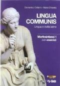 Lingua communis, Morfosintassi 1 con esercizi