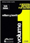 A modern method for guitar - testo italiano