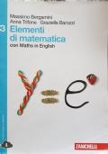 ELEMENTI DI MATEMATICA 3 con Maths in English