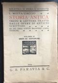 Storia Antica Volume IV Origini del Cristianesimo