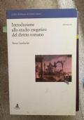 introduzione allo studio esegetico del diritto romano