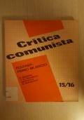 Critica comunista 15/16 - Periodico bimestrale 1982