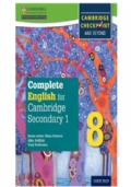 Complete English for Cambridge Secondary 1, Stage 8