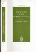 Osservazioni sulla morale cattolica