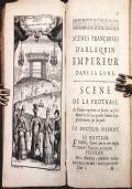 Le Théatre Italien, ou le Recueil général de toutes les Comédies et Scènes Francoises jouées par les Comédiens Italiens du Roy, pendant tout le temps qu'ils ont été au service. Enrichi d'Estampes en Taille-douce à la tete de chaque comédie, à la fin de la