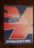 DIZIONARIO FONDAMENTALE INGLESE-ITALIANO  ITALIANO-INGLESE   De Agostini