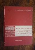 VOCABOLARIO LATINO - ITALIANO - LATINO G. Campanini, G. Carboni