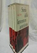 STORIA DELLA LETTERATURA AMERICANA (Luigi Berti) - 4 VOLUMI+COFANETTO