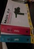 M@T 2.0 ARITMETICA 1 GEOMETRIA 1, EBOOK CON AUDIOLIBRO, CONTENUTI INTEGRATIVI,E DVD