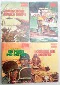 Lotto 4 libri Pocket Guerra : Un ponte per Patton - U-boot rotta su Tokio - I corsari del deserto - Operazione Africa Korps