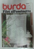 Burda 446. Filet all'uncinetto