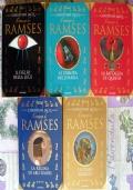Il romanzo di Ramses - lotto storico 5 libri Egitto SERIE COMPLETA
