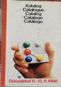 Katalog Dusseldorf 6.-13.11.1986, 10th international trade Fair plastic