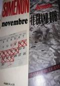 6 raccolte di romanzi e racconti piu due libri singoli di simenon in francese alcuni inediti in  italiano