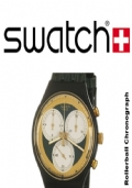Swatch Rollerball, Chronograph Made Swiss Quartz, ANNO 1991, Rif. SCB107.