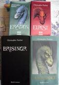 L'Eredit� lotto fantasy 4 libri Eragon Eldest Brisingr Inheritance SERIE COMPLETA