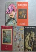 Lotto 5 cataloghi Asta del Novecento, Antiquariato, arte moderna e contemporanea: Meeting Art, Rubinacci, Cambi, Ghiglione