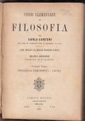 Corso elementare di FILOSOFIA