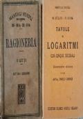 Manuali Hoepli Storici (1918 - 1921) Ragioneria e Logaritmi