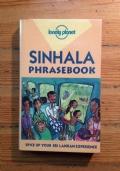 LONELY PLANET - SINHALA PHRASEBOOK