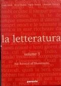 La Letteratura VOL. 3   (dal Barocco all'Illuminismo)