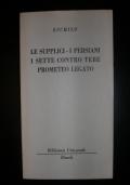 LE SUPPLICI - I SETTE CONTRO TEBE - PROMETEO LEGATO