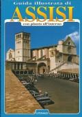 Guida illustrata di Assisi con pianta all'interno