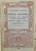 Manzoni, opere minori (inni sacri, odi, tragedie, opesie e prose varie)