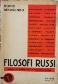 Filosofi Russi - saggio di storia della filosofia russa
