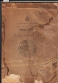 UNIVERSITA' DI PADOVA 1892 Onoranze centenarie a  Galileo Galilei